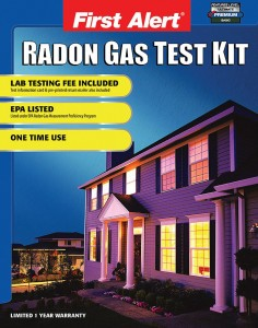 What is the cost of radon testing kit?