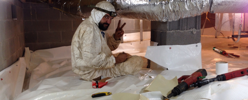 Call Cook's Radon for crawl space radon mitigation service.