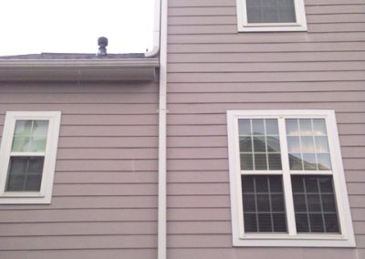 exterior-routing-with-gutter-downspout-material